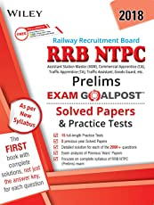 Wiley's RRB NTPC (Prelims) Exam Goalpost Solved Papers and Practice Tests