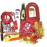 Sharda Enterprise Aalta Sindoor Bangle 16 Sringar Set Multicolour
