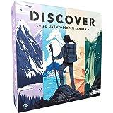 Asmodee FFGD0164 Discover: Zu unentdeckten Landen, Brettspiel