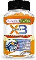 X3 | Potente cúrcuma orgánica con glucosamina, condroitina y colágeno | Elimina el dolor en músculos, articulaciones y...
