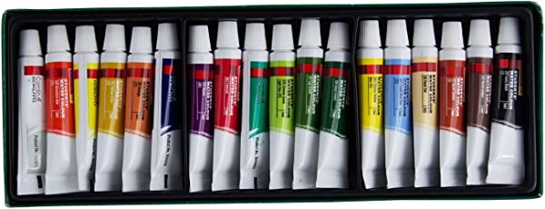 Camel Camlin Kokuyo Student Water Color Tube - 5ml Tubes, 18 Shades