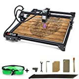 R P Era 3D ORTUR Laser Master 2, Laser Engraver CNC, Laser Engraving Cutting Machine, DIY Laser Marking for Metal with 32-bit