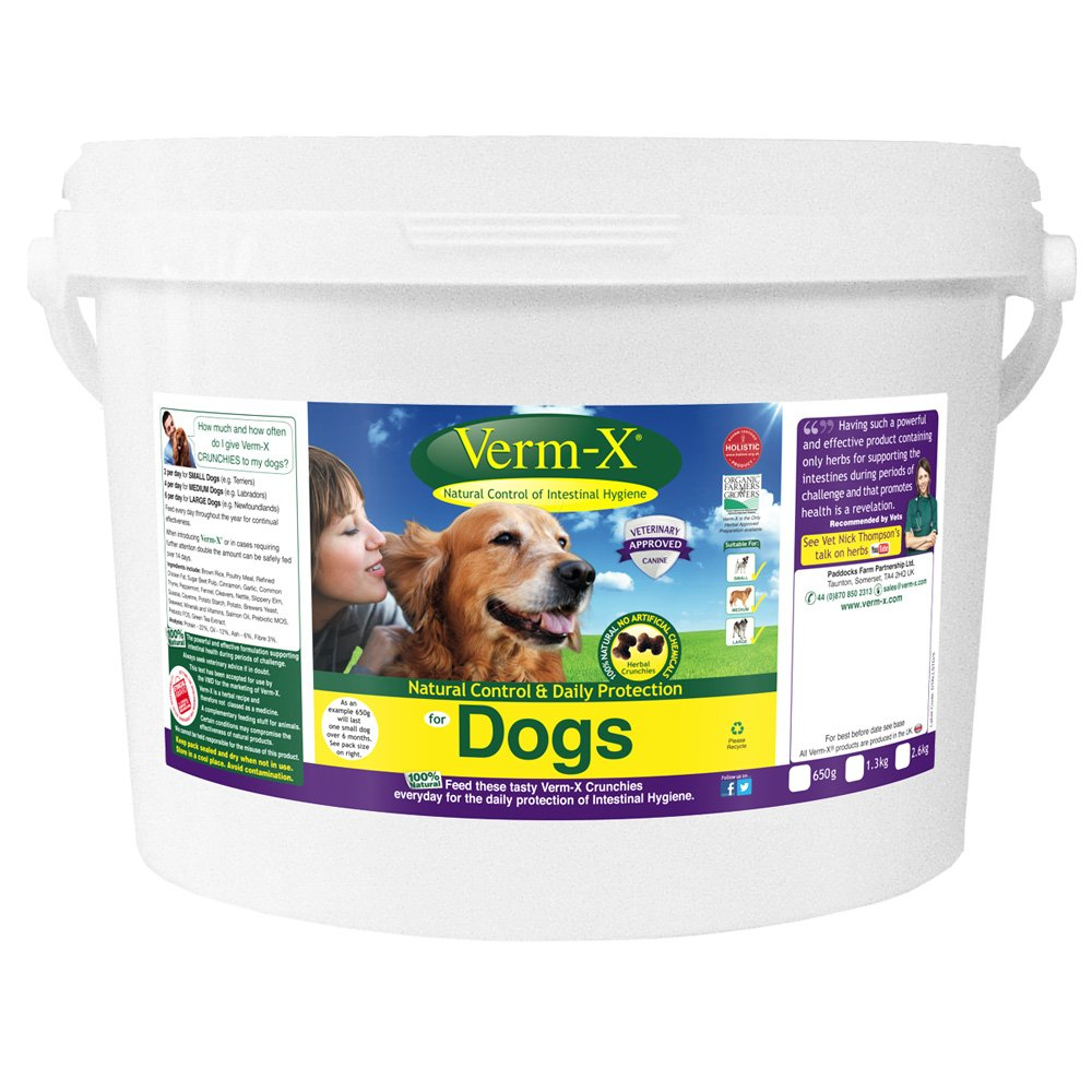 Verm-X Dog Crunchies, 2.6 kg