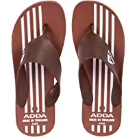 ADDA Roadies-7 Men's Black/Black PVC Slipper Flip-Flop