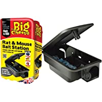 The Big Cheese Rat and Mouse Bait Station (Durable, Lockable, Reusable Bait Box)