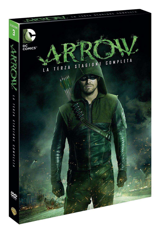 Arrow- Stagione 03 (5 DVD + Comic Book)