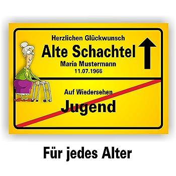 Play Too Ortsschild Bild Geschenk Fest Geburtstag Spaß