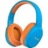 Zamkol Cuffie per Bambini Senza Fili Bluetooth Wireless On-Ear Child Headset con Mic 85dB Volume Limitato Compatibili Protezi