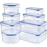 Deik Boîte Alimentaire, Set de boîte de Conservation Alimentaire, Conteneur Alimentaire Plastique avec couvercles…