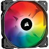 Corsair iCUE SP120 RGB PRO - Ventilador de chasis de 120mm, Silencioso, de Flujo de aire elevado, Paquete Individual