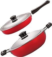 Nirlon Nonstick Rakshabandhan Cookware Gift Set for Sister