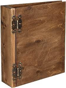 Classeur en bois de présentation DIN A4 élégant fait à la main par Aldecor