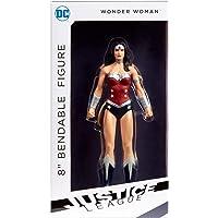 NJ Croce Justice League New 52 Wonder Woman Bendable Figure, Multi Color (8-inch)