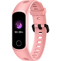 HONOR Band 5i (Coral Pink) Full Color Touchscreen, SpO2, in-Built USB Charging, Music Control, Watch Faces Store, Multiple Sports Modes, Scientific Sleep Monitor, HR Monitor, 50M Water Resistance