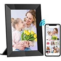 Hyjoy Digitaler Bilderrahmen WLAN 8 Zoll, Smart WiFi Digitale Bilderrahmen mit IPS-Touchscreen HD-Display, 8GB Speicher…
