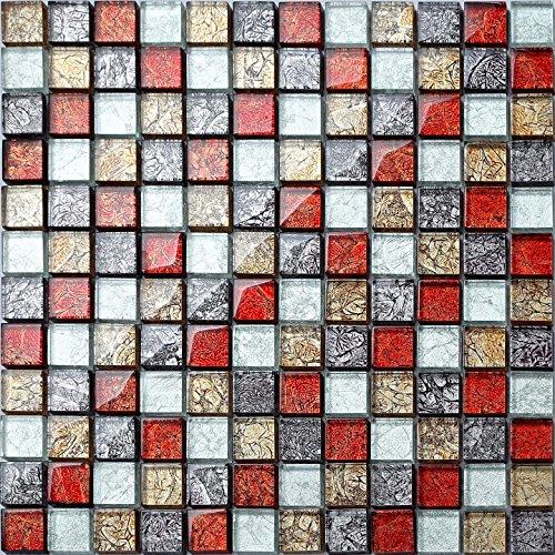 vetro-mosaico-piastrelle-30-cm-x-30-cm-tappetino-piccole-pietre-in-migrazioni-colori-rosso-oro-argen