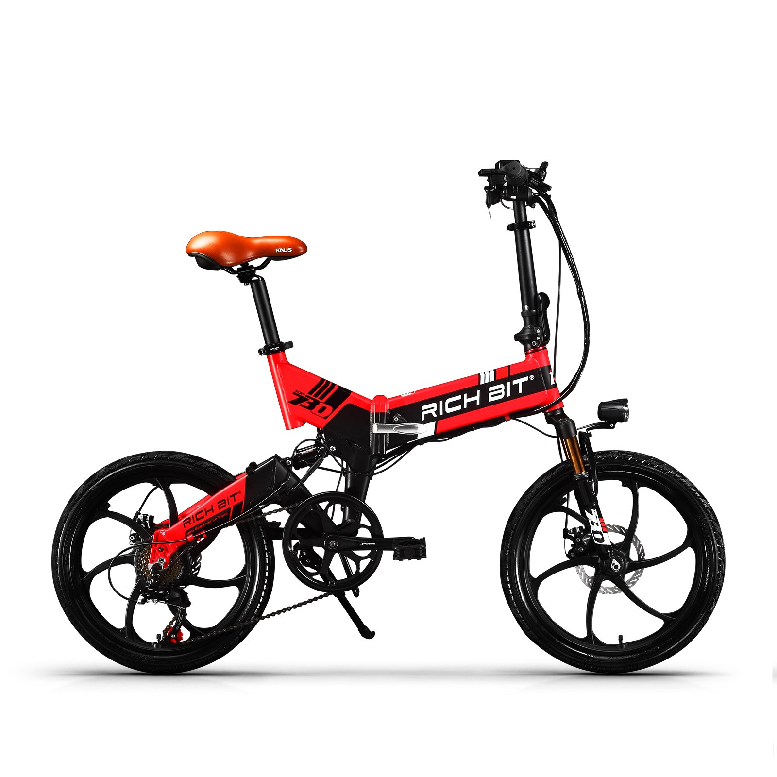 eBike_RICHBIT 730 Bici elettriche Pieghevole Bici ...