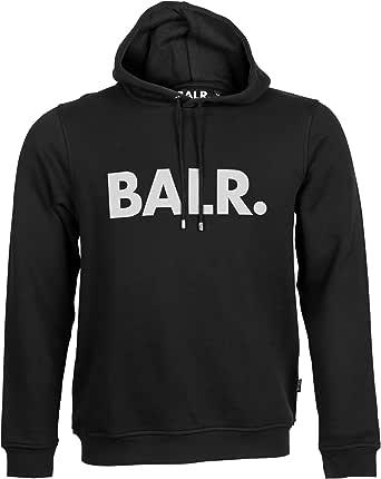 BALR. Brand Hoodie and Soft Cotton - Black - XS