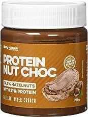 Body Attack Protein Nut Choc, Hazelnut Super Crunch, 250 g