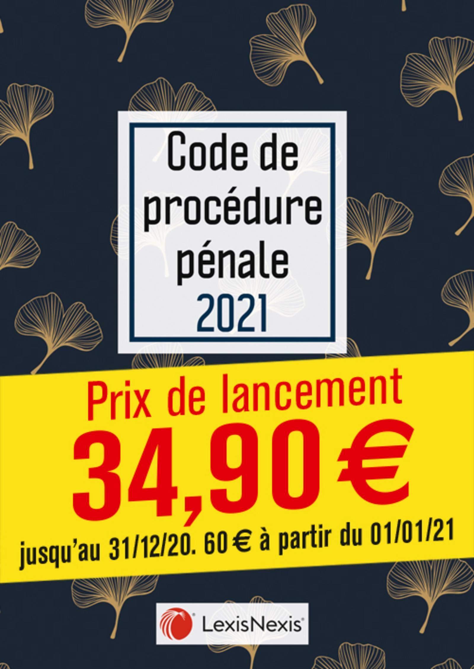 Code de procédure pénale 2021- Jaquette Ginkgo doré