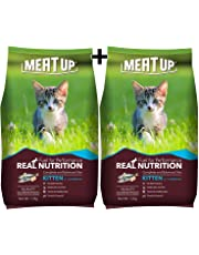 Meat Up Kitten Cat Food, 1.2 kg (BUY 1 GET 1 FREE)