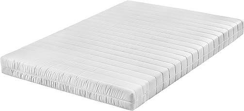 Traumnacht 03892440159 T9 9-Zonen Tonnentaschenfederkern-Matratze Polyester,weiß