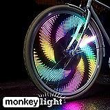 Monkey Light M232-200 Lumen Éclairage Pour Velo - 32 LEDs - 42 Motif - Roue et Rayon Éclairage