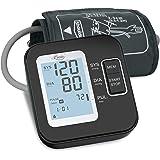 Digitale automatische bloeddrukmeter voor bovenarm - bloeddrukmeter voor bloeddruk en hartslag, groot lcd-display, 2 x 120 op