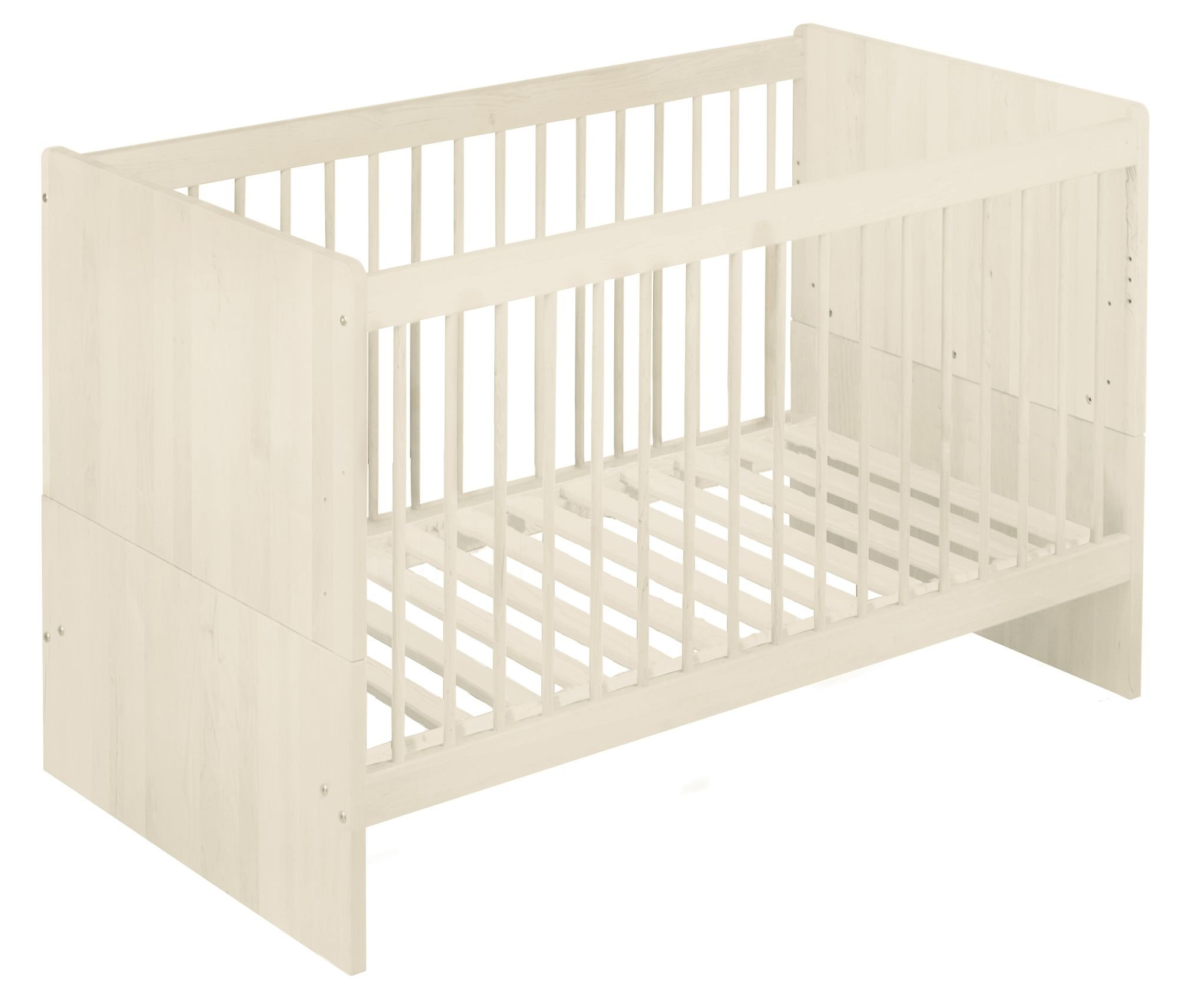 BioKinder 22600 Lina babybed cot 70x140 cm. Biological massive wood Bio-Kinder Babybed cot Lina Sustainable solid wood. Biological finish. Individually handcrafted by professional carpenters Surface W 70 cm, L 140 cm. Outward measurement L 150 cm, W 77 cm, H 90 cm. 1