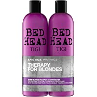 TIGI Bed Head, Set Regalo da Donna Tween Duo, Shampoo 750 ml e Conditioner 750 ml, Dumb Blonde