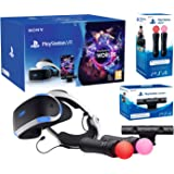 """PlayStation VR """"Starter Plus Pack"""" Camera V2 + VR Worlds + Paire Move Controllers"""