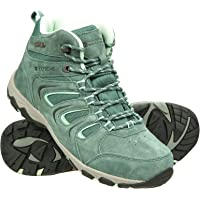 Mountain Warehouse Aspect Womens Waterproof Boots - Durable Ladies Hiking Shoes, Synthetic Upper, Mesh Lined Footwear…