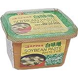 HANAMARUKI - Veritable Pâte de Soja Blanche en barquette pour soupe Japonaise 500g - SANS GLUTEN ! SANS OGM !