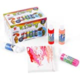 TBC The Best Crafts, Pouring Acrylic Paint kit, 23 colours x 2 oz (59ml) Bottles, Non Toxic, Paint for Pouring on canvas, sto