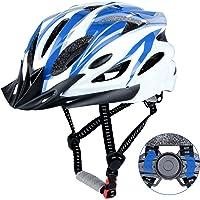 DesignSter Fahrradhelm für Erwachsene Herren Damen MTB Mountainbike Helm mit Abnehmbarem Visier und Verstellbar Radhelm…
