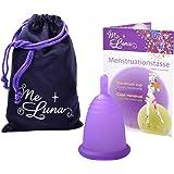 Me Luna Coupe menstruelle Classic, manche, Violet, Taille XL