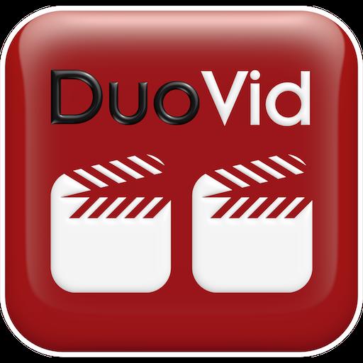 DuoVid - 2 Videos sehen Seite an Seite mit Duo vid zur gleichen Zeit. Verbessern Sie eine Fähigkeit, Sport. Streamen von YouTube, URL, Telefon Bibliothek.