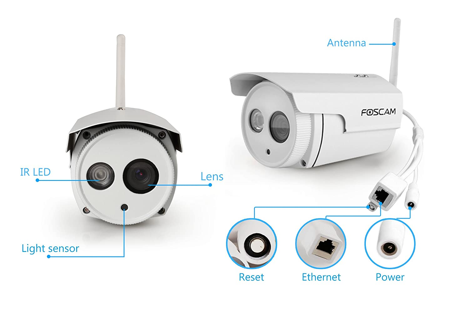 foscam fi9803ep 720p hd poe cctv ip camera amazon co uk foscam fi9803ep 720p hd poe cctv ip camera amazon co uk computers accessories
