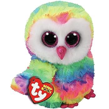 c3d6b674767 TY Beanie Boo Plush - Sammy the Owl 15cm  Amazon.co.uk  Toys   Games