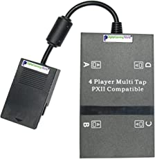 Digital Gaming World® High Quality PS-2 Multi Tap/Adapter for Play Station-2 Console (PS-2 Console Not Included)