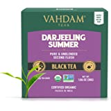 Té negro Darjeeling de Himalaya (30 bolsitas de té)   Cafeína Media, Té de Alta Energía   Bolsas de té Darjeeling sin mezclar