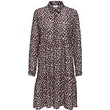 JACQUELINE de YONG Jdypiper L/S AOP Shirt Dress Wvn Noos Vestito Donna