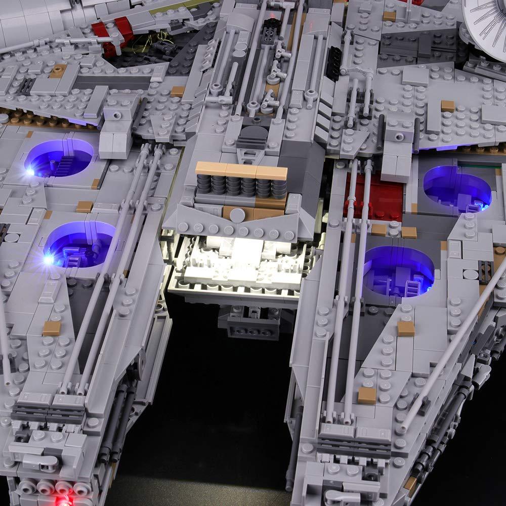 Lightailing Set Di Luci Per Star Wars Millennium Falcon Modello Da Costruire Kit Luce Led Compatibile Con Lego 75192 Spesavip