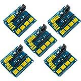 5PCS Sensor de expansión Shield Módulo Compatible con Arduino