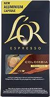 L'OR Espresso caffè - Capsule in Alluminio compatibili con macchine Nespresso® - Confezione da 50 capsule - Colombia...