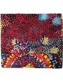 Desigual foulards 18saww19 starfish rectangle rouge