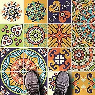 HomeArtDecor | Dekorative Fliesen | Mexikanische Maya Talavera Wandfliesen  Und Bodenfliesen | Fliesenaufkleber | Einfach Schälen