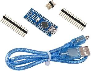 Elegoo Kompatibles Nano Board CH340/ATmega328P Version 3,0 mit USB Kabel