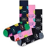 Happy Socks Calcetines (Pack de 3) Unisex Adulto