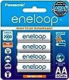 Panasonic eneloop AA Rechargeable Battery, Pack of 4